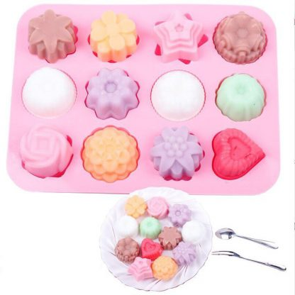 Silicone 3D Chocolate Soap Cake Candy Baking Mold