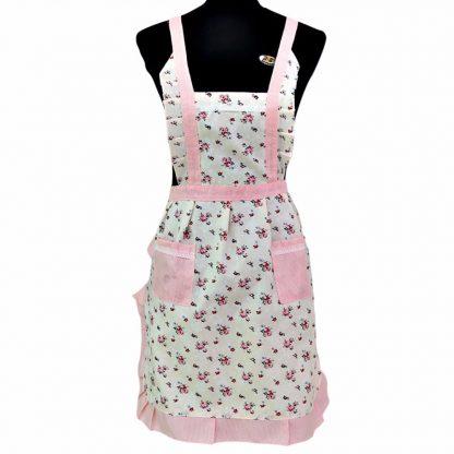 Women Restaurant Home Kitchen Pocket Cooking Cotton Apron