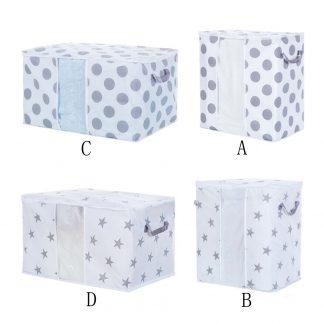 Foldable Storage Bag Clothes Blanket Quilt Closet Sweater Organizer