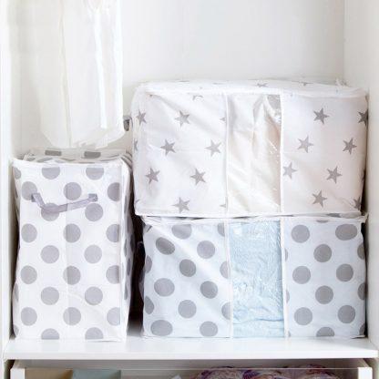 Clothes Blanket Quilt Closet Sweater Storage Bag Organizer