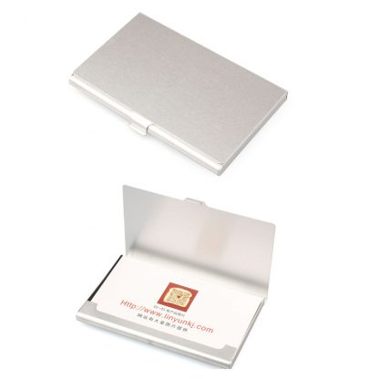 Aluminum Metal Box Credit Business Card Case Holder