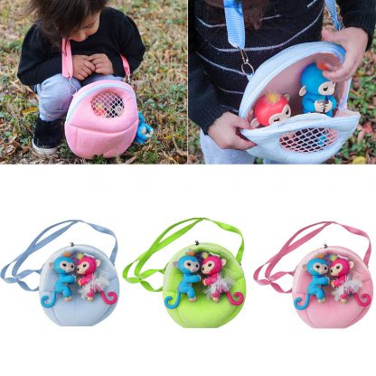 Multi-Function Small Backpack Pets Toys Carrying Bag