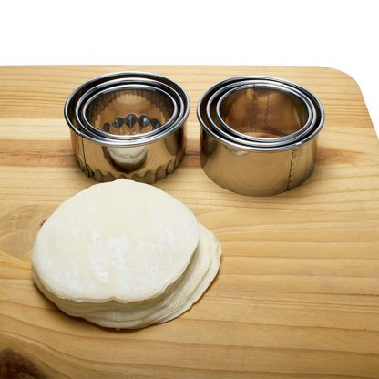 Stainless Steel Dumpling Maker Mold Cutter Pastry Tools Set
