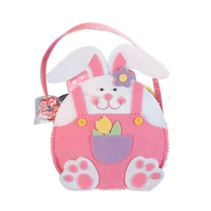 Easter Rabbit Gift Candy Bag Creative Present Home Accessory