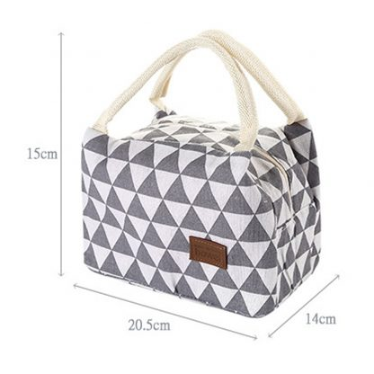 Small Thermal Insulated Lunch Cooler Bag