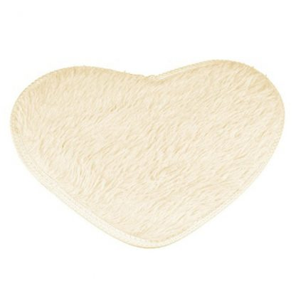 Non-Slip Heart Floor Mat Home Decor