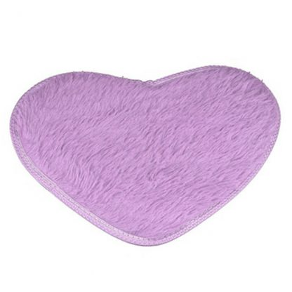 Non-Slip Heart Floor Mat Home Decor