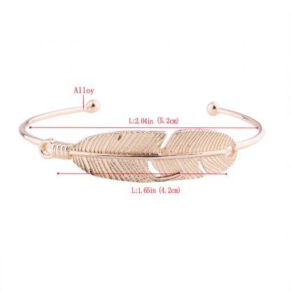 Four Multi-Layer Leaf Love Snow Elk Bracelets Handmade Set