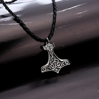 Pendant Leather Men Fashion Jewelry Necklace