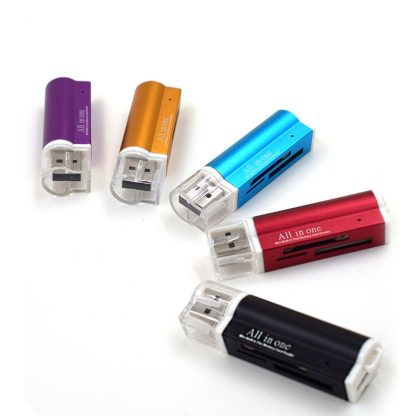 Multi Memory Micro Card Reader All In One USB