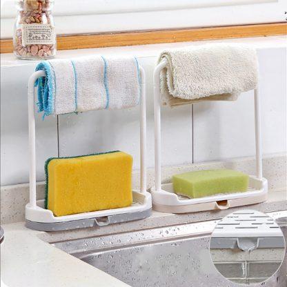 Hanging Bathroom Kitchen Rag Storage Rack