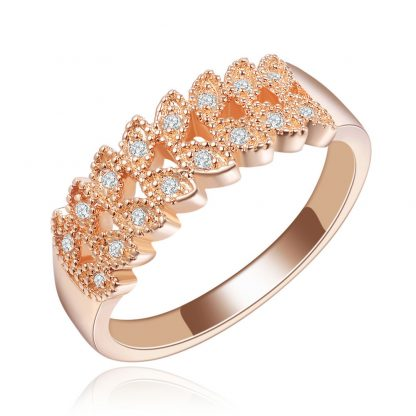 Elegant Luxury Crystal Women Fashion Jewelry Ring