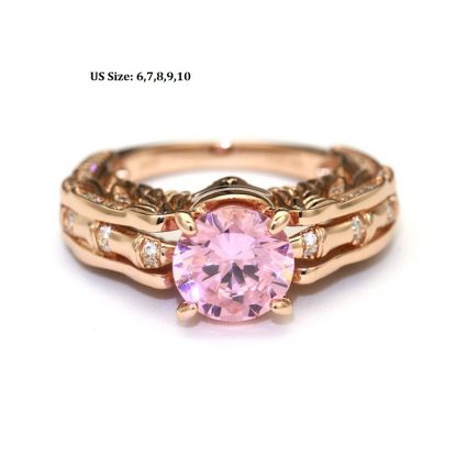 Delicate Skull Ring Women Fashion Jewelry