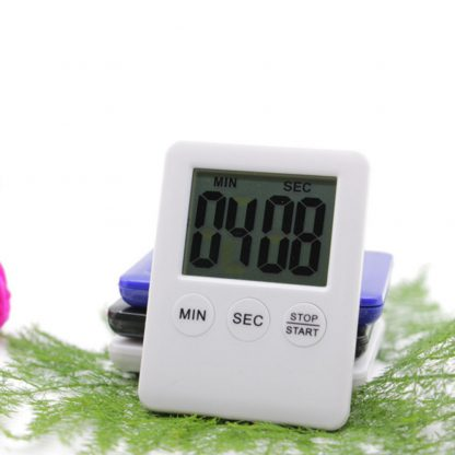 Digital Timer Reminder Alarm LCD Cooking Clock Kitchen Magnet