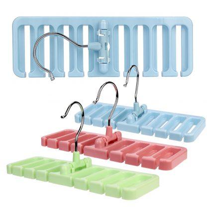Wardrobe-Belt-Tie-Scarf Hook-Organizer