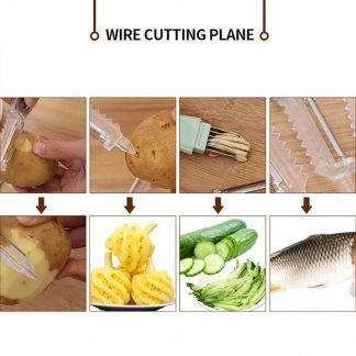 Julienne Slicer Vegetable Fruit Potatoes Carrot Peeler