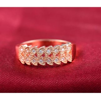 Elegant Luxury Crystal Women Fashion Jewelry Ring