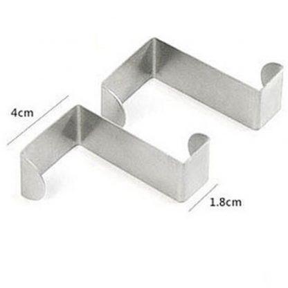 Door Hook Stainless Steel Kitchen Cabinet Multi-Use Hangers