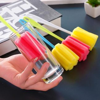 Wineglass Bottle Glass Cup Sponge Brush Cleaning Tool