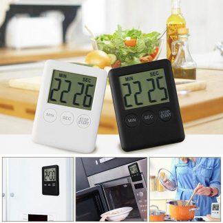 Digital Timer Reminder Alarm LCD Cooking Clock Kitchen Magnet