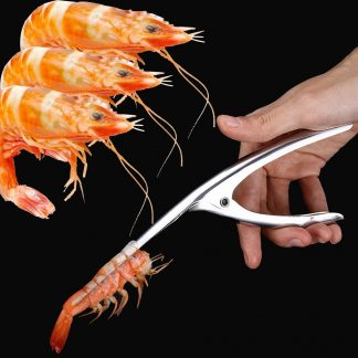 Stainless Steel Prawn Shrimp Peeler Kitchen Tool