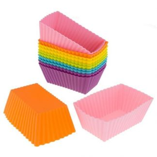 2 PCs Mini Cup Cake Muffin Silicone Baking Liners