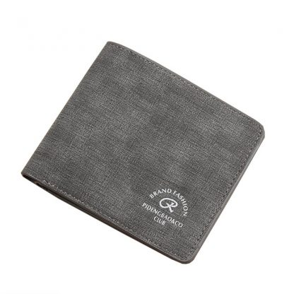 Elegant Bifold Credit Card Money Cash Men PU Leather Wallet
