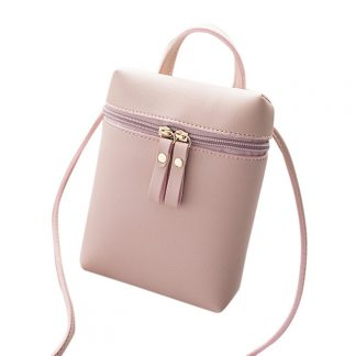 Casual Double Zippers Style Women Fashion Totes Shoulder Bag