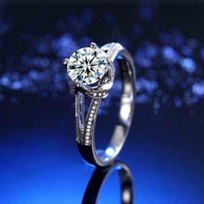 Brilliant Crystal High Quality Cubic Zirconia Women Fashion Ring
