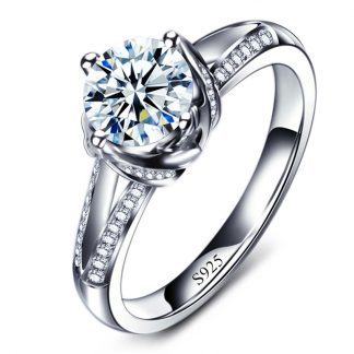 Brilliant Crystal High Quality Cubic Zirconia Women Fashion Ring