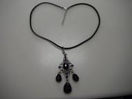 Tear Drops Rhinestones WomenPendant Necklace Fashion Jewelry