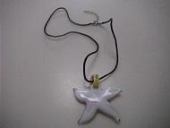 Star Fish Colorful Glass WomenPendant Necklace Fashion Jewelry