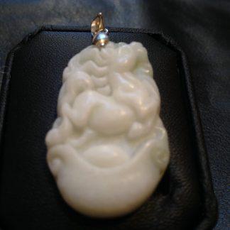 Horse Handmade Jade Pendant