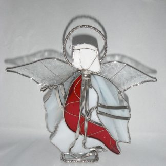 Stained Glass Handmade Christmas Display Angel
