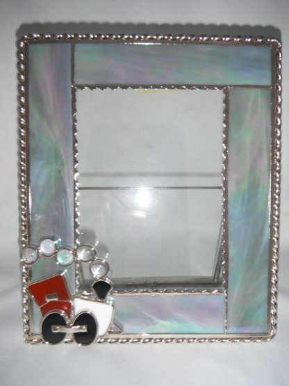 Stained Glass Handmade Picture Car Frame