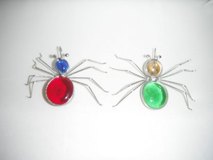 Stained Glass Spider Window Suction Cup