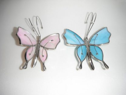 Stained Glass Butterfly Window Suction Cup