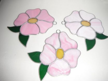 Stained Glass Handmade Flower Sun Catcher