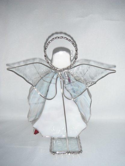 Stained Glass Handmade Christmas Display Angel